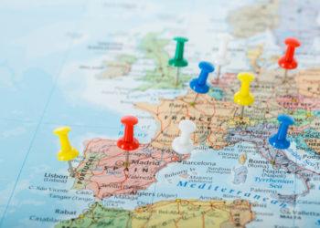 Viajar para Europa